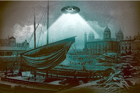 UFO Over Hull, UK - 1801