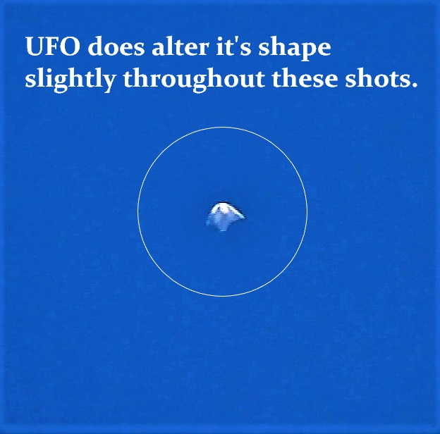 UFO close up at 2 minutes and 3 seconds