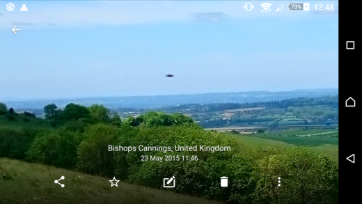 Mystery Object Over Bishops Cannings, Wilts UK - 23 May 2015